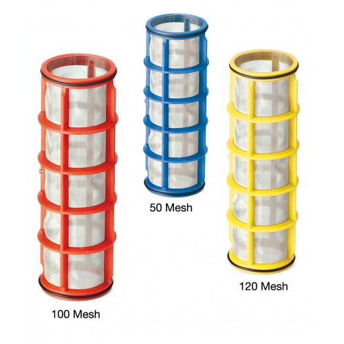 Spare filter mesh