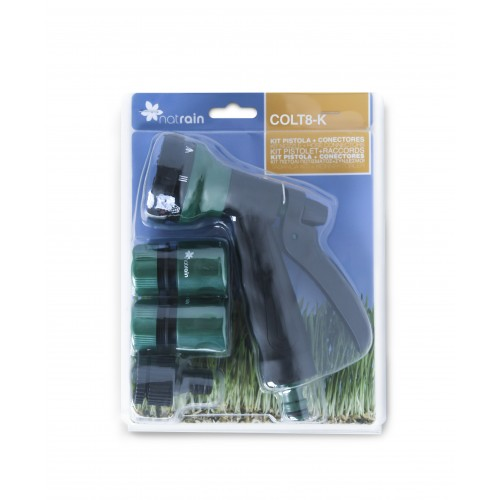 Kit Pistola manguera + Conectores