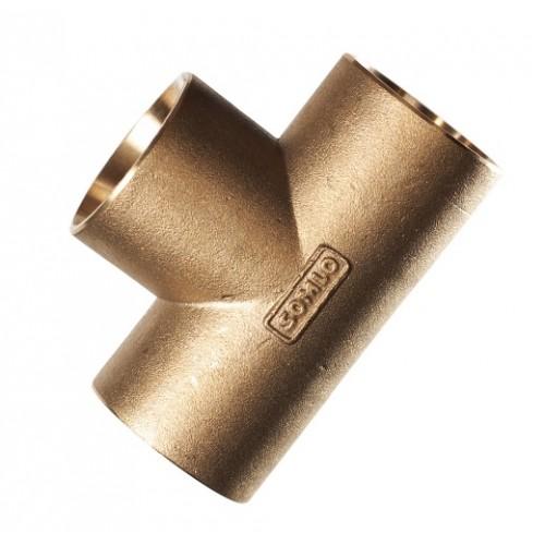 Te latón conexión PE 32-32-32