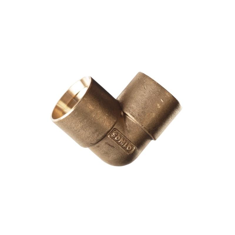 Manguito latón conexión PE 32-32